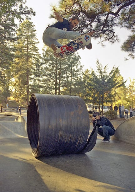 chris haslam @hood river skate park fall 2006