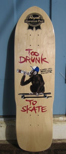 Royal Hawaiian Pool Service Too Drunk to Skate Skateboard
