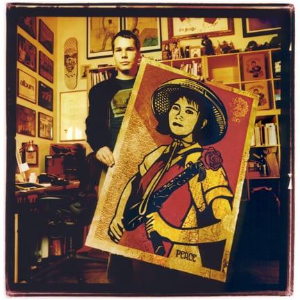 Shepard Fairey - Sam Holden