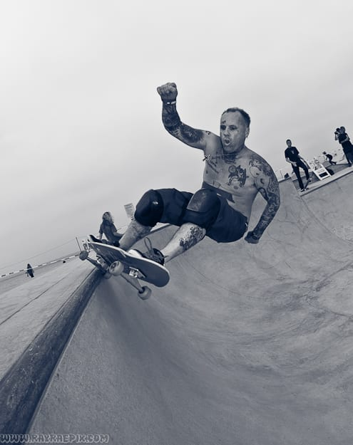 JAY ADAMS AT VENICE SKATEPARK. PHOTO: RAY RAE GOLDMAN