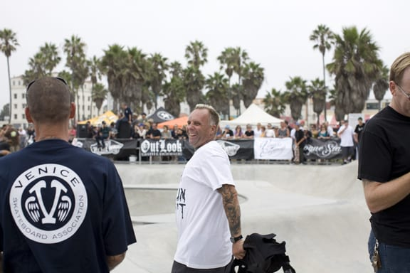 JAY ADAMS - VENICE SKATEPARK 1 YEAR ANNIVERSARY - PHOTO: JEFF BENDER