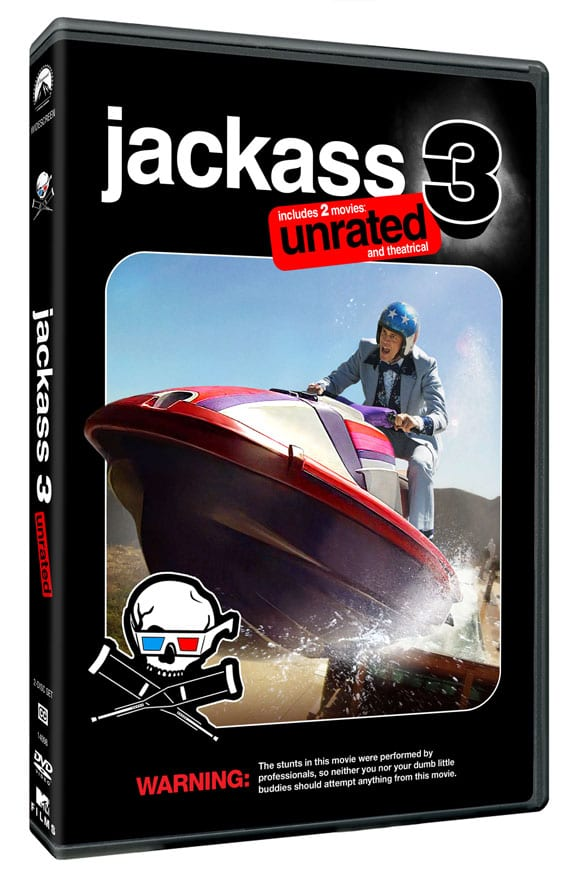 Jackass 3D 2 Disc DVD