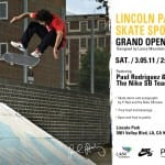 LINCOLN PARK SKATE SPOT GRAND OPENING MARCH 5TH