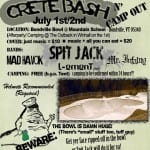 VERMONT SKATEBOARDS CRETE BASH N' CAMP OUT