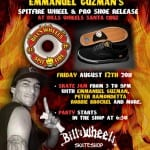 EMMANUEL GUZMAN WHEEL AND SHOE RELEASE PARTY @ BILLS WHEELS