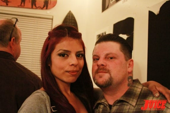 Eric Dressen and girlfriend