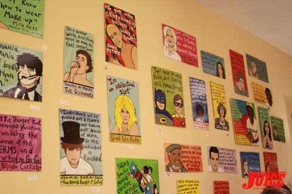 Another part of the wall. Photo: Dan Levy