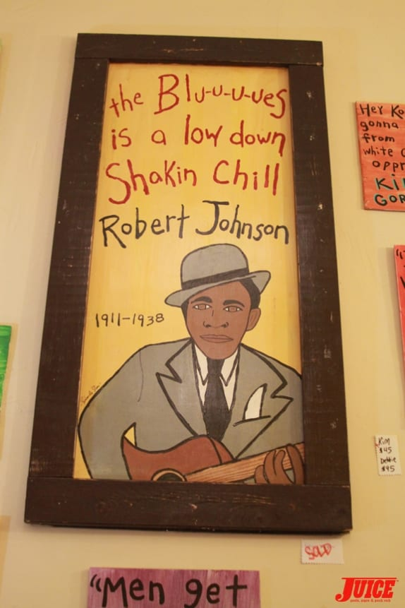 Robert Johnson. Photo: Dan Levy