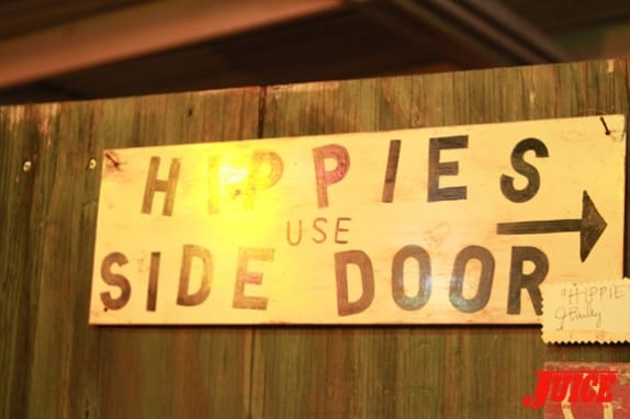 Hippies Use Side Door. Photo: Dan Levy