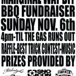 MARGINAL WAY DIY BBQ FUNDRAISER TODAY