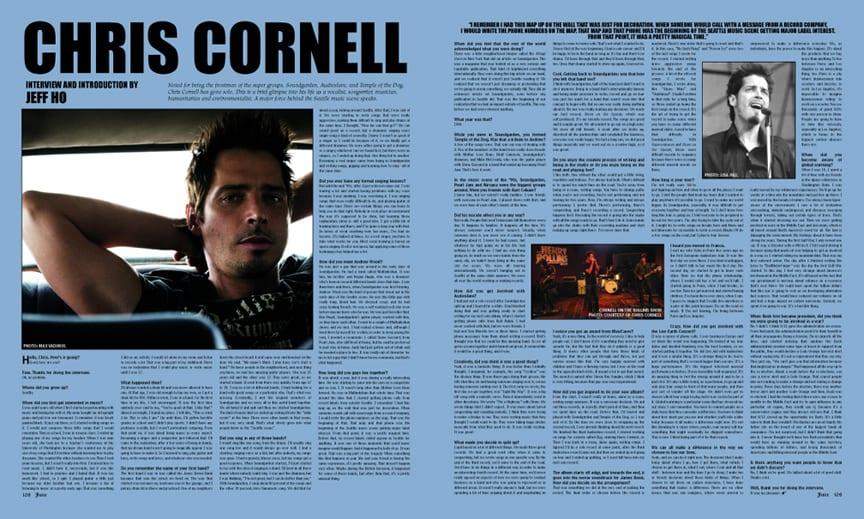 CHRIS CORNELL | Juice Magazine