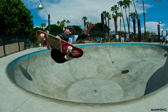 Palm Springs Skatepark Session. Photo: Sean Manning