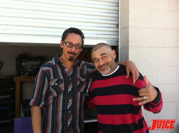 Tommy Guerrero and Steve Caballero. Photo: Dan Levy