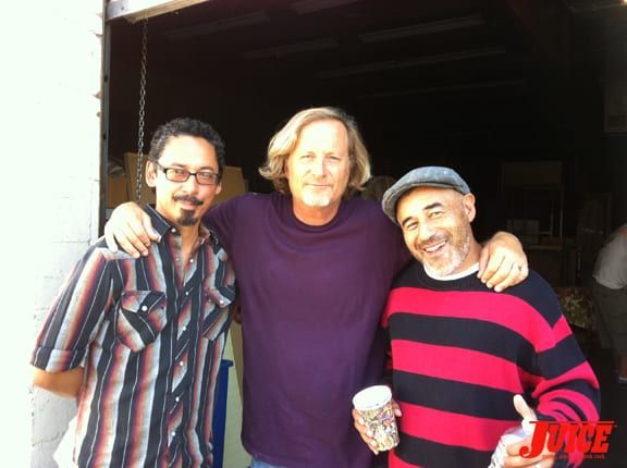 Tommy Guerrero, Stacy Peralta and Steve Caballero. Photo: Dan Levy