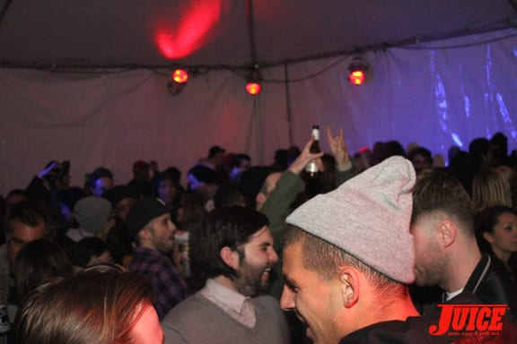 This party was ON!!!. Photo: Dan Levy