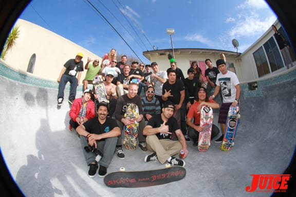 Group shot. Happy Birthday Morgan!. Photo: Dan Levy