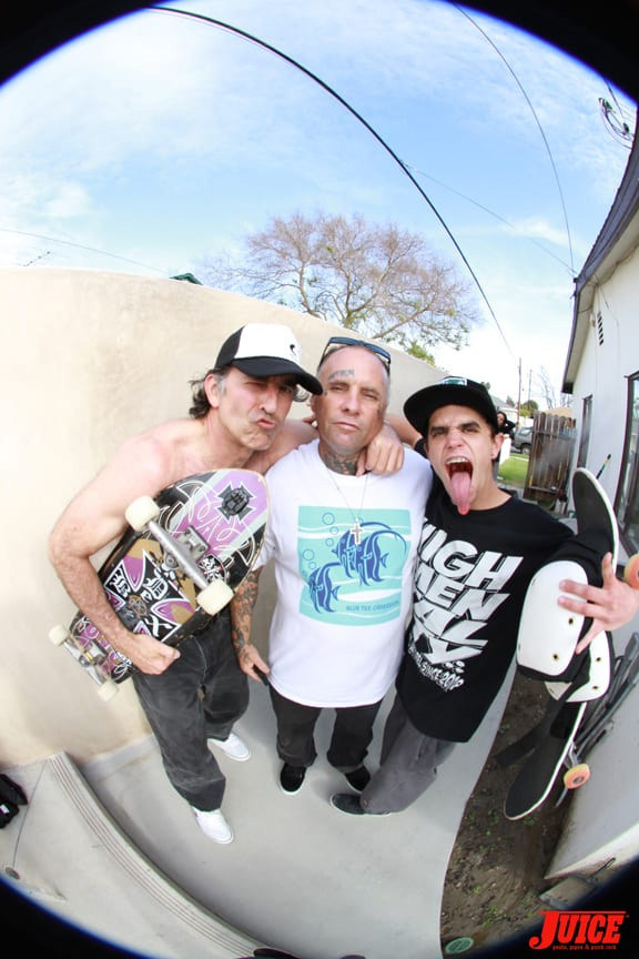 David Hackett and Jay Adams. Photo: Dan Levy