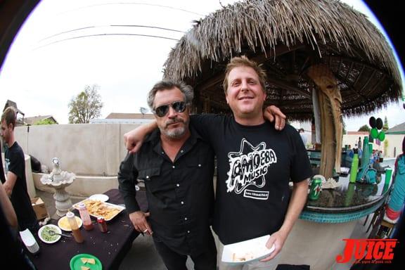 Olson and Ghan. Photo: Dan Levy