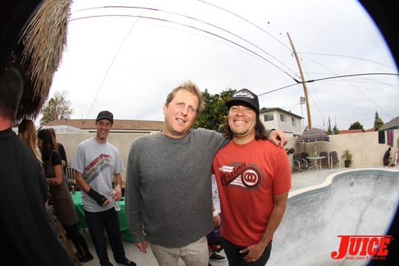 Morgan Ghan and Aaron Astorga. Photo: Dan Levy