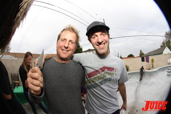Morgan Ghan and Theo Hand. Photo: Dan Levy
