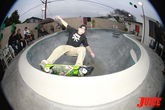 grinds. Photo: Dan Levy