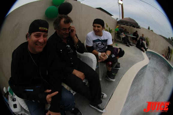 Duncan, Olson, Hosoi. Photo: Dan Levy