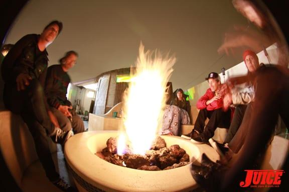 Firepit. Photo: Dan Levy