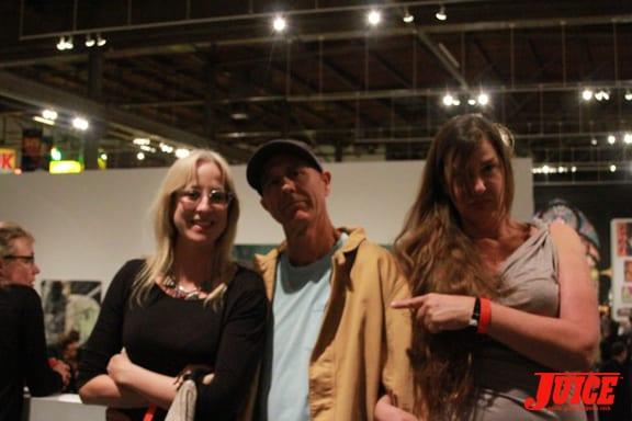 C.R. Stecyk III and Susanne Melanie Berry. Photo: Dan Levy