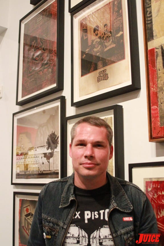 Shepard Fairey. Photo: Dan Levy