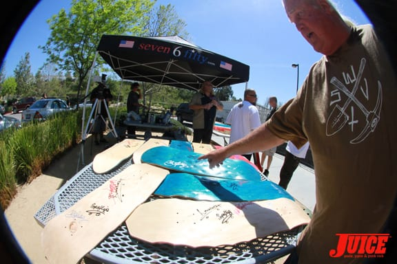 Charity Boards. Photo: Dan Levy