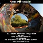 "THEO HAND PHOTO EXHIBIT ""SMOKE N ROLL"""