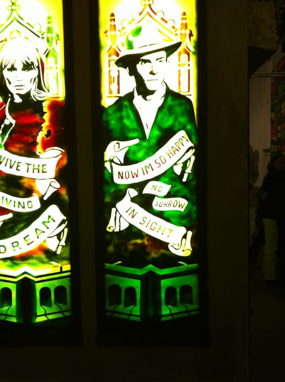Street Stain Glass. Photo: Dan Levy