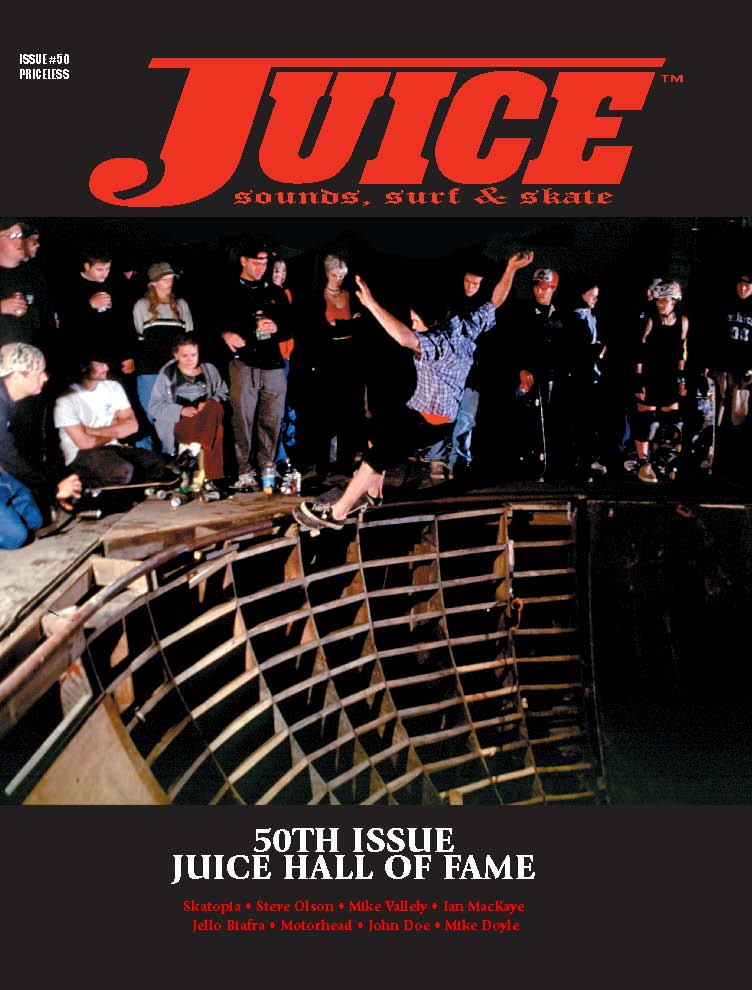 Juice Magazine 50 Sloppy Sam Batterson cover
