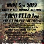 Cinco De Margo : a Marginal Way Skatepark Benefit
