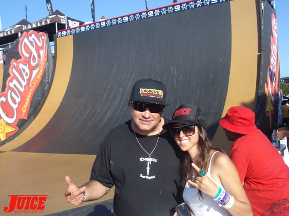 Dave Duncan and Vanessa Davey