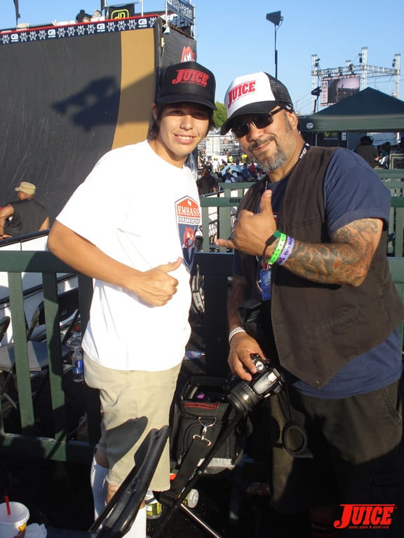 Juice Love at Maloof Money Cup
