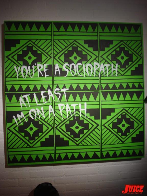 """You're a Sociopath"" artwork by NeckFace"