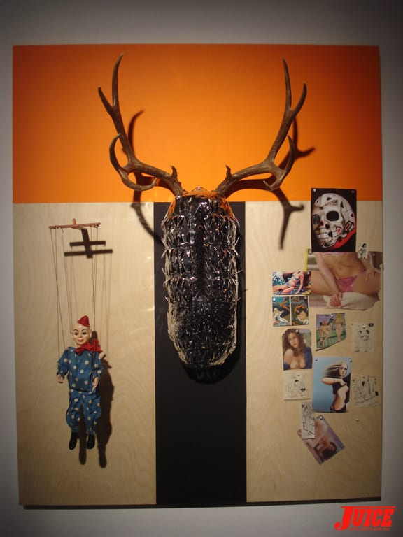 More antler art