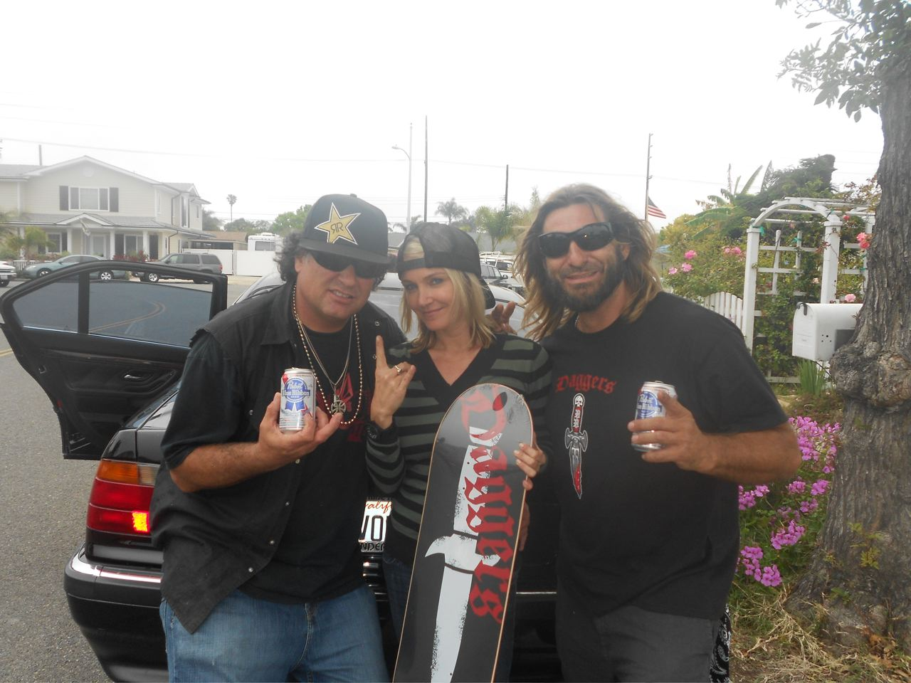 Dave Duncan, Jen O'Brien and Eddie Reategui. Photo: Courtesy of Dave Duncan
