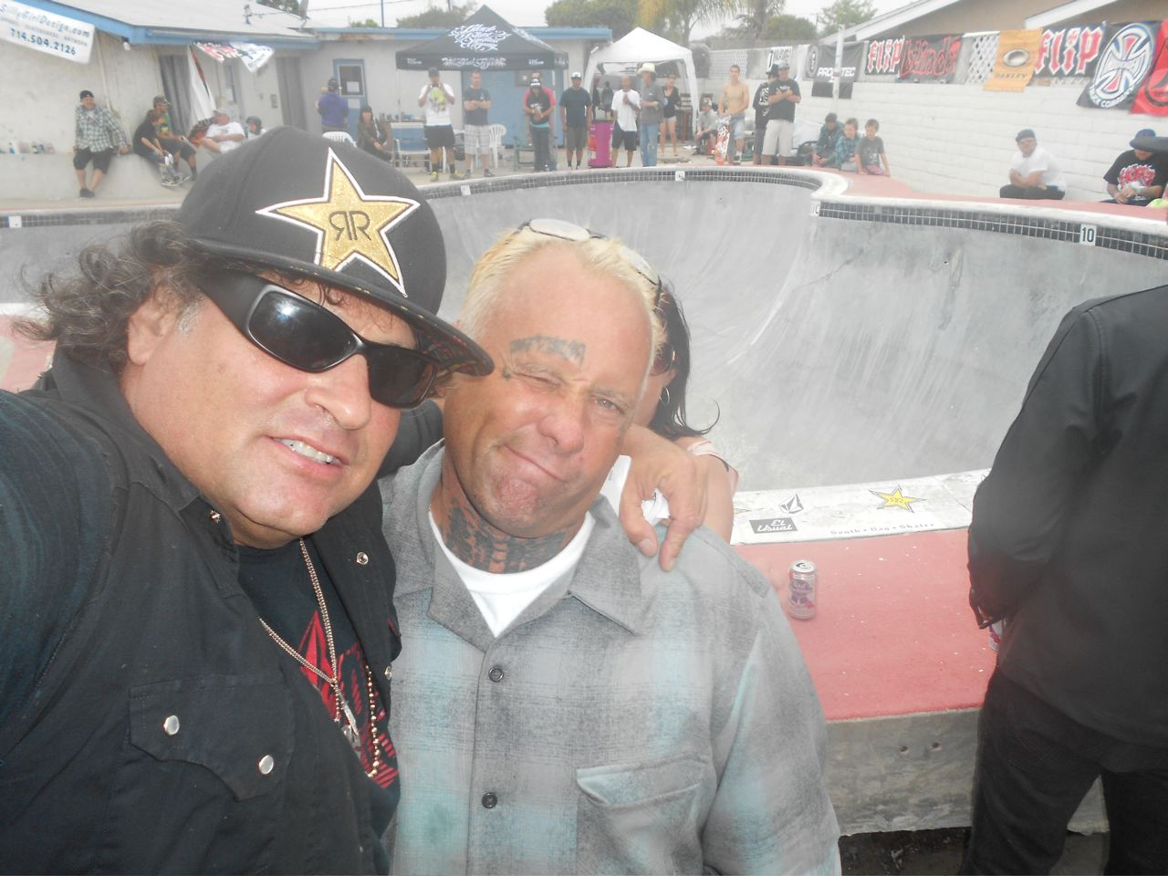 Dave Duncan and Jay Adams. Photo: Courtesy of Dave Duncan