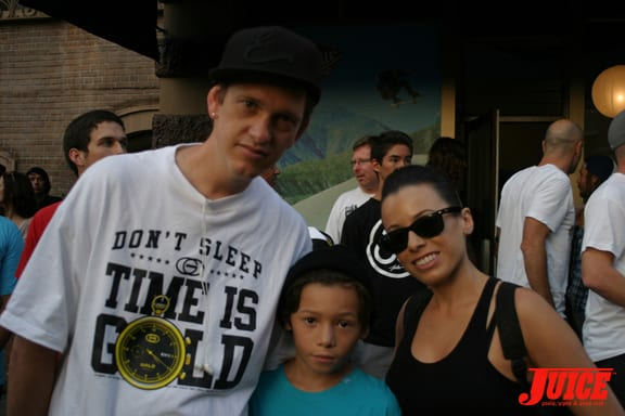 Justin and Fam