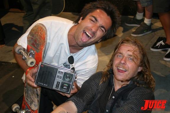 Tony Trujillo and Jake Duncombe