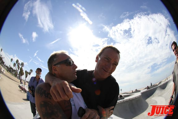 Jay Adams and Froggy