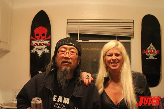 Jeff Ho and Terri Craft