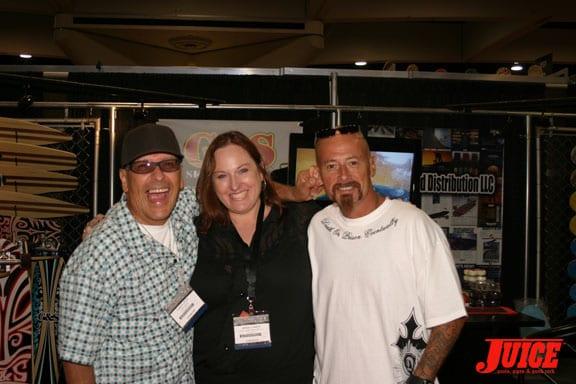 Ray Stevens, Debbie Gordon, Dennis Martinez