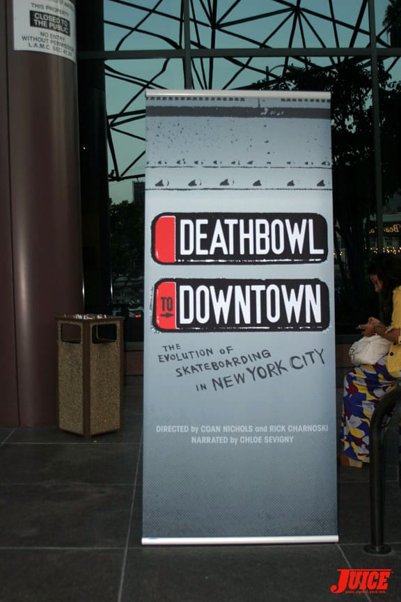 Deathbowl To Downtown Video Premiere At Directors Guild Of America