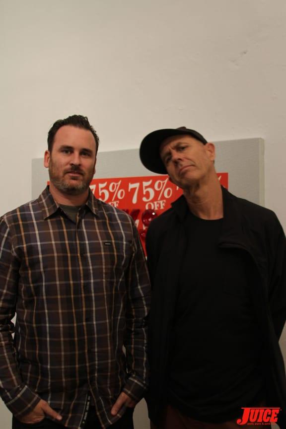 Ed Templeton and Craig Stecyk III