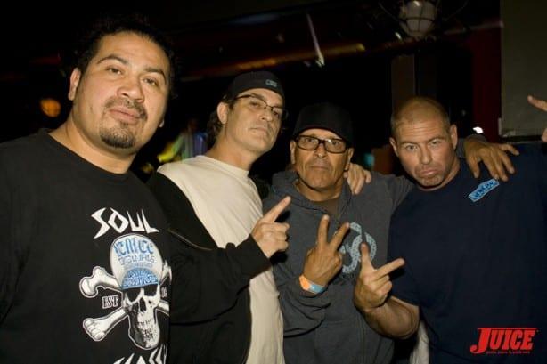 Block, Kelly Jackson, Ray Flores, Jimmy Valentine