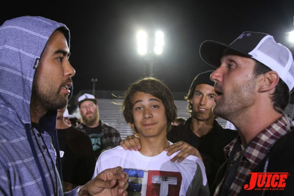 Eric Koston, Sean Malto and David Loy