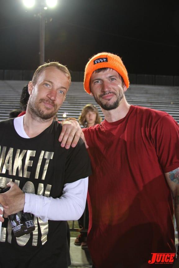 Jamie Thomas and Chris Cole